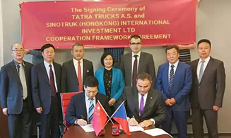 Sinotruk Group signed agreement with Tatlac Group